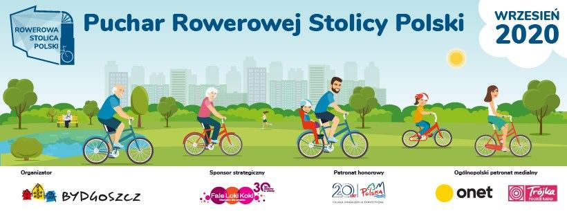 Rowerowa Stolica Polski 2020. Ruszamy i kręcimy kilometry dla Bydgoszczy!
