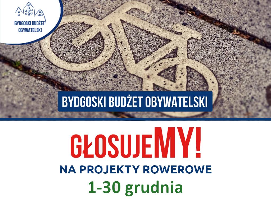 Projekty rowerowe w ramach Bydgoskiego Budżetu Obywatelskiego 2020