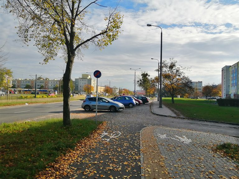 DDR donikąd przy ulicy Wojska Polskiego