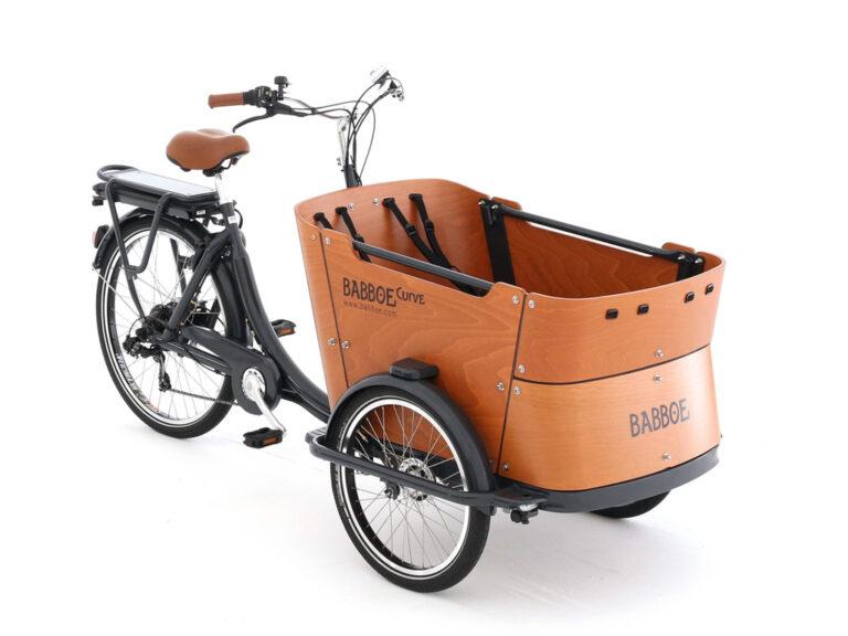 Elektryczny rower cargo trike Babboe Curve