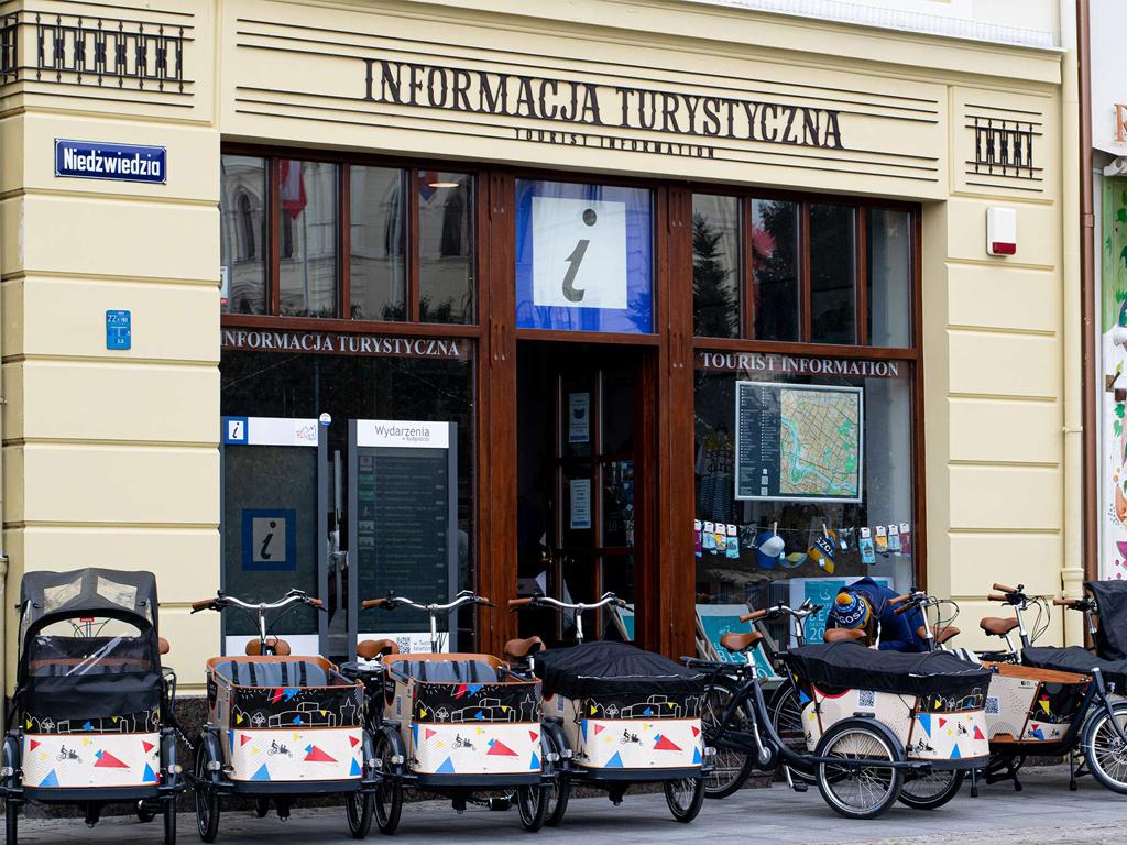 rowery cargo w Bydgoszczy